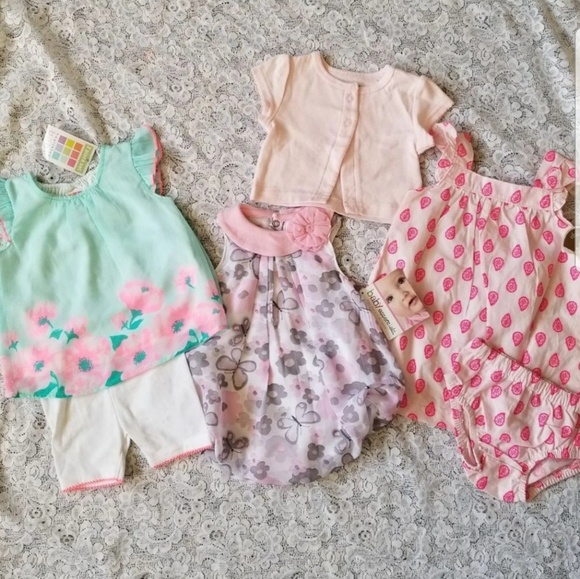 c6d951b4d Baby Essentials Matching Sets | New Baby Girl Springsummer Outfits ...